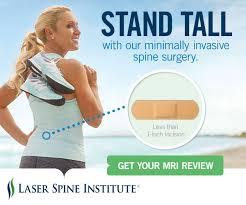 Natalie Gulbis Laser Spine Ad