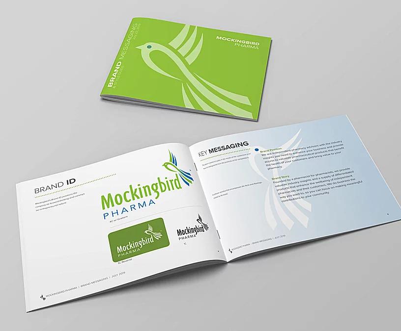 Portfolio Mockingbird Pharma rebranding and marketing strategy