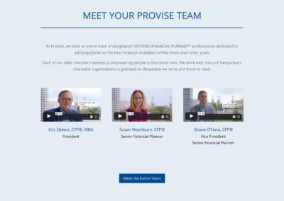 Meet your Provise Team