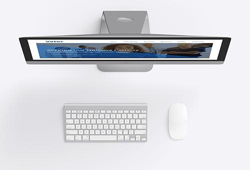 ValorHealthcare Website Redesign Mac